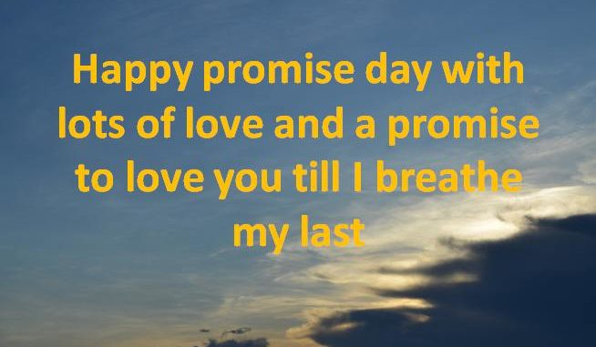 happy promise day status shayari quotes