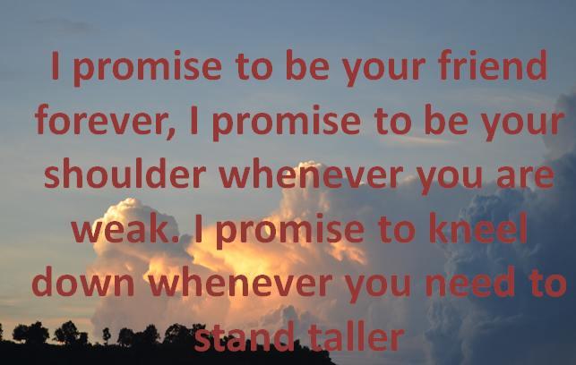 best happy promise day status gf bf romantic