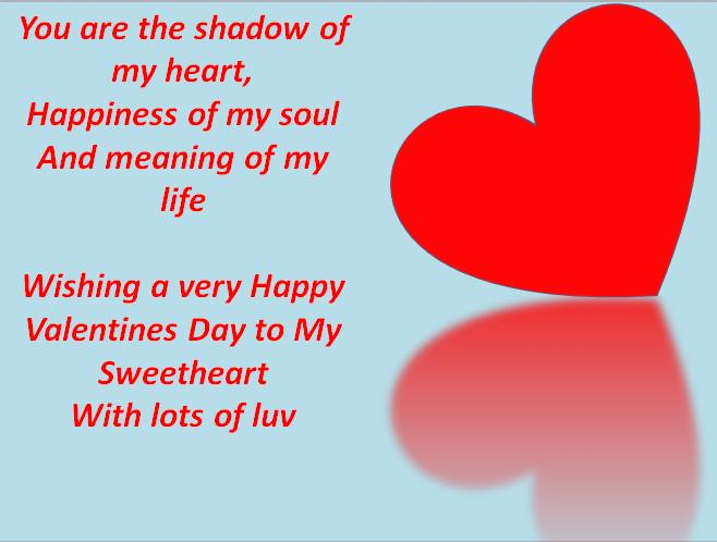 happy valentine day wishes for girlfriend